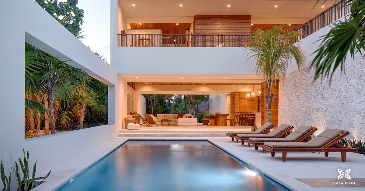 Sensational Bienvenidos Casa Xixim Beachfront Ecoluxe Fully Staffed Interior Design Ideas Gentotthenellocom